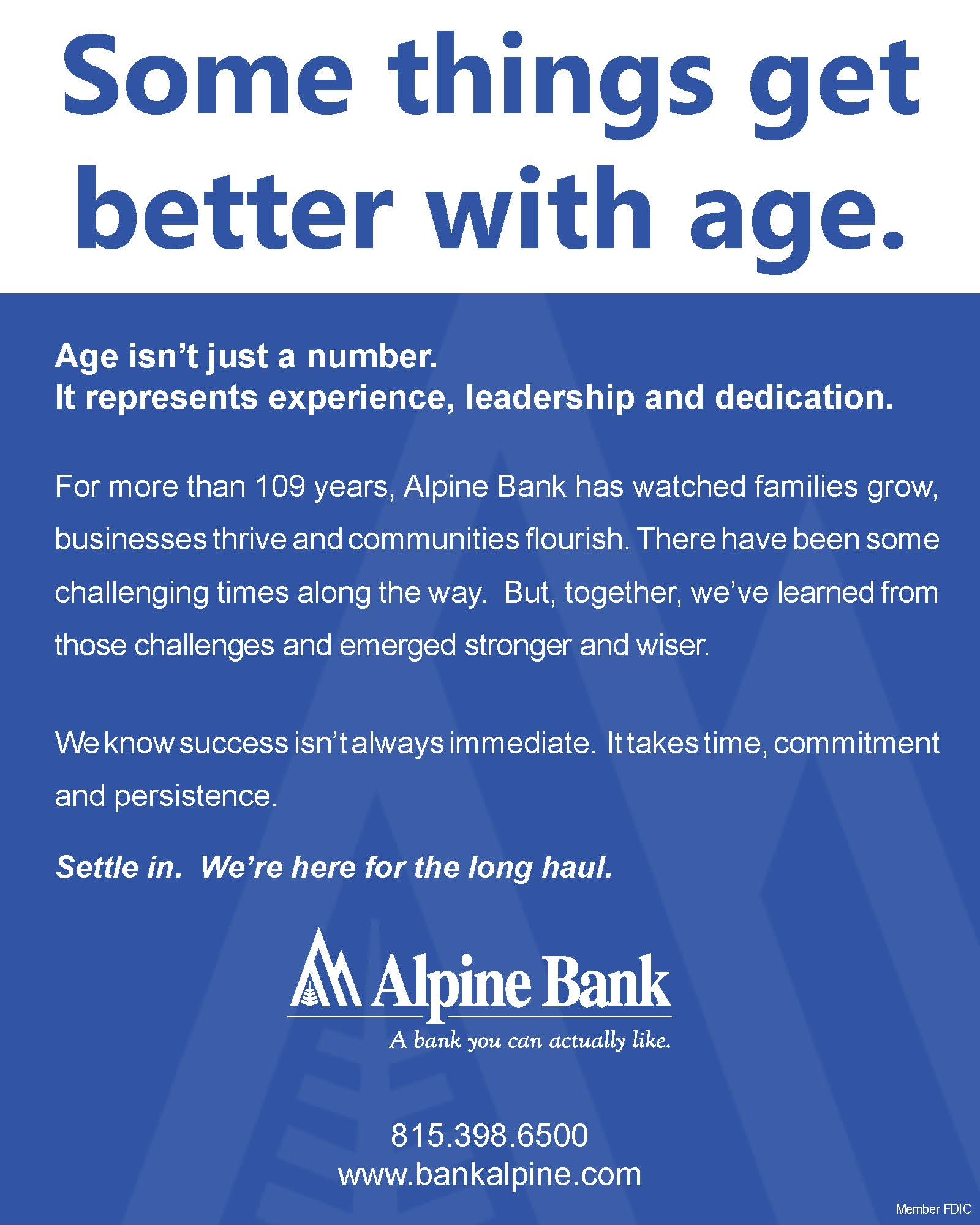 ALPINE BANK AD